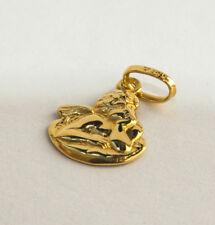 Süßer Anhänger Engel Schutzengel 585 Gelbgold Gold Kinder 0,71 Gr Schmucketui
