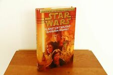 Star Wars: Planet of Twilight by Barbara Hambly (1997 Hardcover 1st/1st VG/VG)