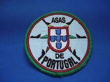 PORTUGUESE AIR FORCE FORÇA AEREA ASAS DE PORTUGAL PATCH 88mm