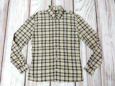 Mens Dolce & Gabbana D&G Long Sleeve Check Plaid Shirt Size Large