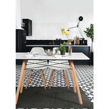 NEW Style Dining Table Living Room Office Kitchen Dining Table White