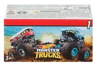 Hot Wheels Monster Trucks Mystery Mini Key Launch Blind Box Series 1 & 2 Random
