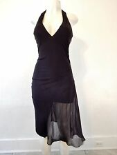 BEBE HALTER BLACK Dress (NWOT  / SZ S)