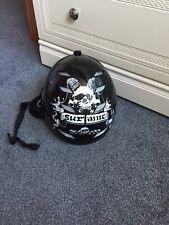 Surfanic Shiny Skull Snowbord Helmet S/M