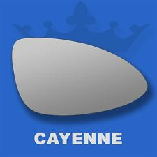 Porsche Cayenne 10-17 Flat Wing Mirror Glass For Right Driver Side