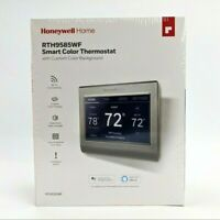 Honeywell Wi-Fi 7 Day Smart Color Programmable Touchscreen Thermostat RTH9585WF