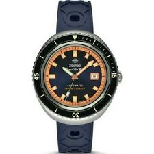 "Zodiac ZO9504 ""Super Sea Wolf 68"" Automatic Swiss Movement Rubber Strap Watch"