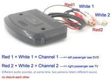 car infrared wireless ir transmitter audio sender dual channel for IR headphone