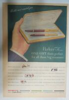 """Parker Pens and Pencils Ad: The New Parker """"51"""" from 1948 Size: 11 x 15 inches"""