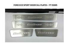 DOOR SILL PLATES STAINLESS STEEL TO FIT FORD ECO SPORT 2013-2014 YT-ES005