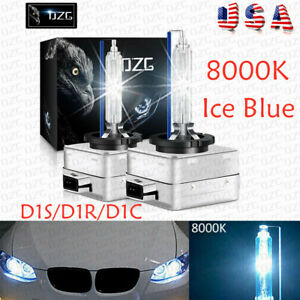 2 x D1S 8000K D1R D1C Ice Blue HID Xenon Light Headlight OEM Replacement Bulbs