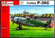 AZ Models 1/72 CURTISS P-36C HAWK American Fighter