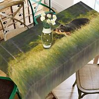 3D Weeds Bear 274 Tablecloth Table Cover Cloth Birthday Party Event AJ WALLPAPER