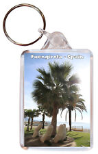 Fuengirola - Costa del Sol - Spain - Double Sided Large Keyring Gift/Souvenir 3a
