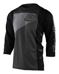 Troy Lee Designs MTB Men's Ruckus Jersey 3/4 Sleeve - Gray / Charcoal