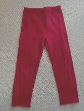 Gymboree Girls Red Ruffle Hem Leggings   Size 4t