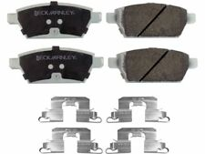 For 2007-2011 Lincoln MKZ Disc Brake Pad and Hardware Kit Rear 33148MX 2008 2009