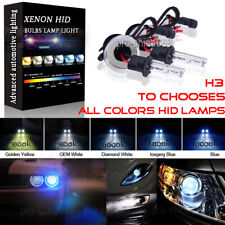 2X DC 55W HID Headlight Replacement Bulbs Xenon Light H3 43K 5K 6K 8K 10K 30K