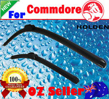 Pair Frameless Windscreen Wiper Blades For Holden COMMODORE VR VS 1993 - 2001