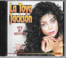CD COMPIL 12 TITRES--LA TOYA JACKSON--HE'S MY BROTHER
