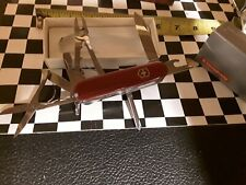 Swiss Army Knife, Red Deluxe Tinker, Victorinox 53481, New In Box NOS
