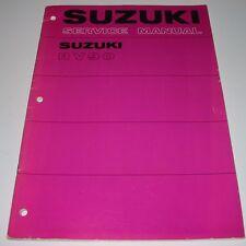 """Workshop Manual / Werkstatthandbuch Suzuki RV 90 / RV90 """"Beach-Bike"""", St.11/1978"""