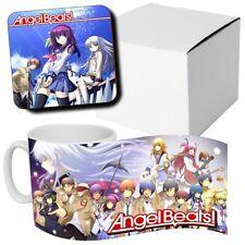 Angelbeats - Anime - Manga - Coffee MUG CUP + Wooden Coaster - Japanese Anime