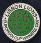 Celtic FC Lisbon Lions 1967 enamel badge