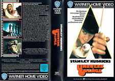 (VHS) Uhrwerk Orange - A Clockwork Orange - Malcolm McDowell, Steven Berkoff