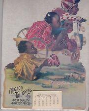 CHICAGO TAILORING CO 1991 CALENDAR AFRICAN AMERICAN BLACK CHILDREN COLLECTORS