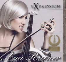 ANA RUCNER CD Expression Album 2012 Cello Bolero Croatia Habanera Toccata Dance