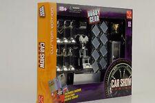 Car Show Ausstellung Set Diorama Equipment Zubehör 1:24 Figur Hobby Gear