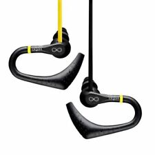 Auriculares deportivos con conexión cable amarillo