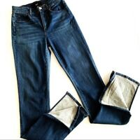 3X1 NYC High Rise Split Seam Bell Flared Jeans Womens Sz 25 70s Boho Designer