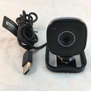 Microsoft LifeCam Model 1407 VX-800 Webcam USB Desktop Laptop Black Stand WORKS