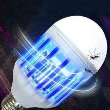 110V E27 Lamp Zapplight Dual LED Lightbulb Bug Light Zapper Mosquito killer
