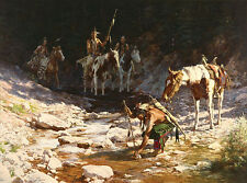 """""""STONES THAT SPEAK"""" LIMITED EDITION PRINT BY HOWARD TERPNING"""