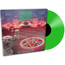 Morbid Angel 'Domination' Transparent Green Vinyl - NEW 100 Copies Only!
