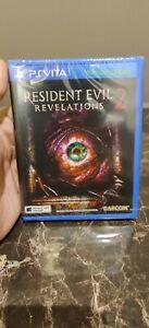 resident evil revelations 2 ps vita Sealed ASIA ENGLISH VERSION Rare