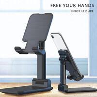 Universal Adjustable Tablet Stand Desktop Holder Mount Mobile Phone iPad iPhone
