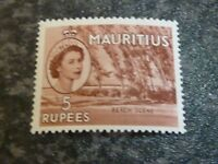 MAURITIUS POSTAGE STAMP SG305 5R VERY LIGHTLY MOUNTED MINT