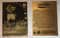 MUHAMMAD ALI 2009 Laser Line Gold Card * The Greatest * Limited Edition * NM-MT