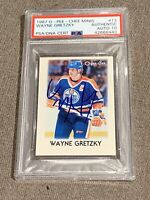 1987 O-Pee-Chee Minis Wayne Gretzky PSA/DNA Authentic Autograph 10 Signed
