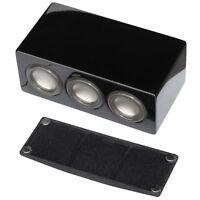 AuraSound Whisper Mini Audiophile Black Lacquer Center Speaker