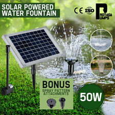 Protege PMPFPKPROAN20 50W Solar Powered Fountain Pump