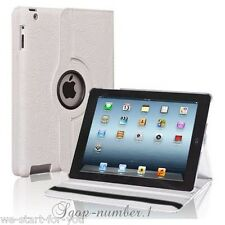 360° Custodia Protettiva iPad 2 & 4 & 3 Borsa Ecopelle Smart Cover Case