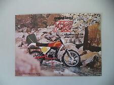 advertising Pubblicità 1978 MOTO TGM R REGOLARITA' SERIE '78 50 125 250