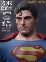 Hot Toys MMS207 Superman Evil Version 1978 Christopher Reeve 1/6 Figure Open New