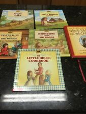Lot 6 My First Little House Books Laura Ingalls Wilder On the Prairie 5 HC/1 SC