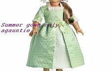 New American Girl Elizabeth Summer GOWN Outfit Cécile Felicity Marie-Grace Molly